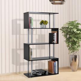 Bibliothèque ZAG noire 4 étagères