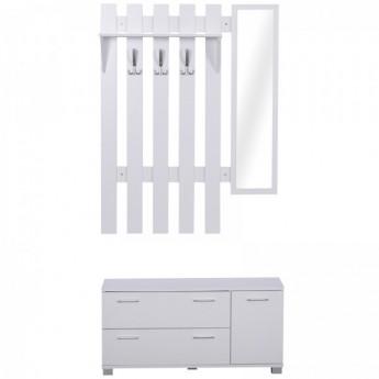 Ensemble de meubles blanc