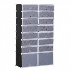 Cubes rangement chaussures gris