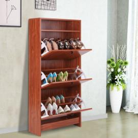 Armoire à chaussure marron