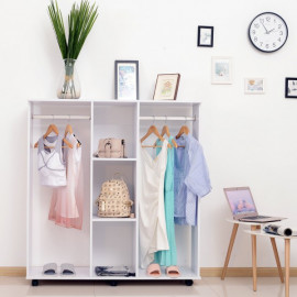Armoire mobile blanc