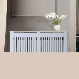 Cache-Radiateur Design Lion blanc