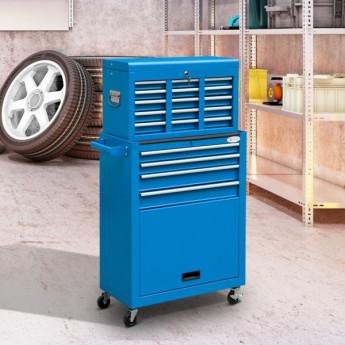 Chariot à outils 13 tiroirs Pablo bleu