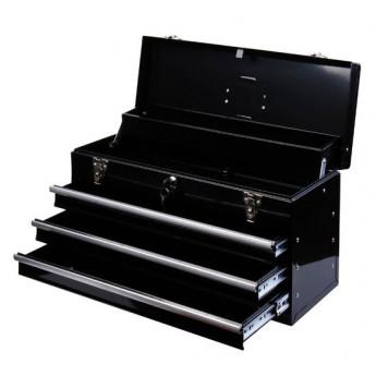 Boite à outils métallique transportable