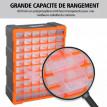 Casier de Rangement Bertrand 60 tiroirs transparents