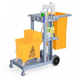 Chariot-poubelle NETOV jaune