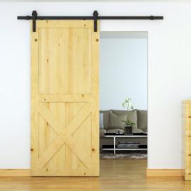 Porte coulissante Véronika noire