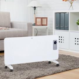 Radiateur Électrique Thermostat Ecran LED CALIHOME Blanc