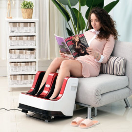 Appareil de Massage Pieds et Mollets Shangaï Rouge