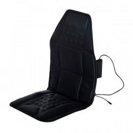 Siège pour massage chauffant et relaxation en plastique noir