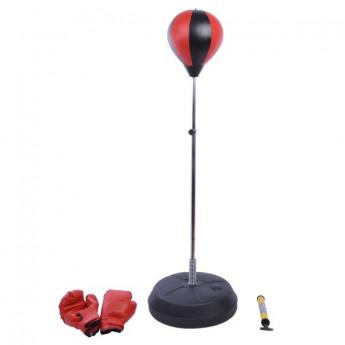 Punching Ball Réglable Stronger Rouge et Noir