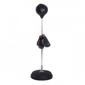 Punching Ball Réglable Champions Noir