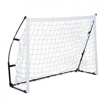 Cage de football Aveiro blanche et noire