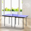 Mini-Table de Ping-Pong Pliable SPING Bleu