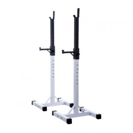 Support pour Barre de Musculation Olympe Blanc