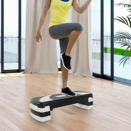 Stepper Fitness Aérobic MU Noir