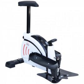 Vélo Elliptique Multifonction Noir Julian avec Ecran LCD