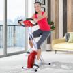 Vélo d'appartement rouge