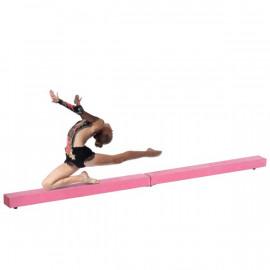 Poutre de Gymnastique Briana Pliable Rose