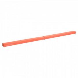 Poutre de gymnaste Amélia pliable en daim orange