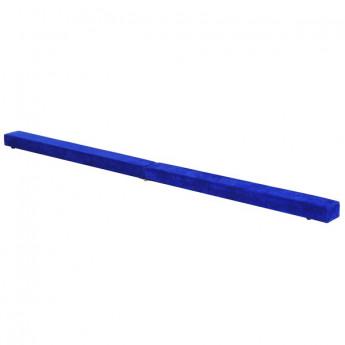 Poutre de gymnastique pliable France en daim bleu