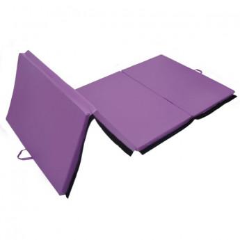 Tapis de sol gymnastique et fitness Bérénice violet