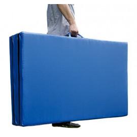 Tapis idéal pour le fitness bleu