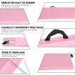 Tapis de sol pour entraînement rose