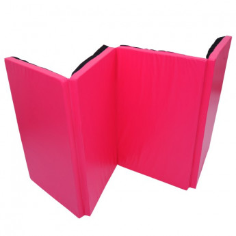 Tapis de sol pour fitness rose