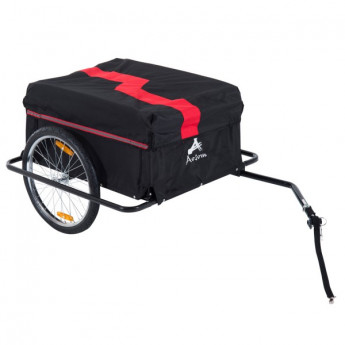 Remorque pour vélo pliable noir