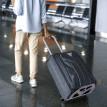 Chariot de bagage pliable gris