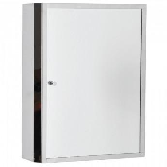Miroir Cali de couleur grise/aluminium