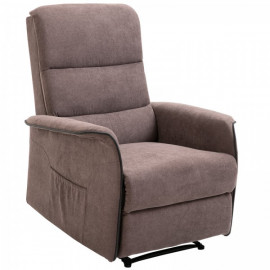 Fauteuil relaxant Anny beige