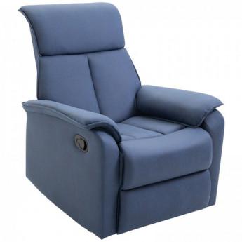 Fauteuil de relaxation Estelle bleu
