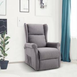Fauteuil de relaxation releveur Andrew gris chiné