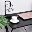 Bureau informatique d'angle contemporain Bruno noir
