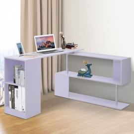 Bureau Design Contemporain Lukas Blanc 120 x 140 x 78 cm