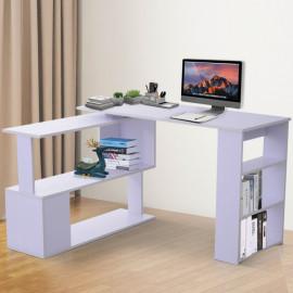 Bureau informatique modulable Skinoly blanc