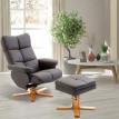 Fauteuil de relaxation Kawa marron