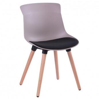 Chaise de salle à manger Willy assise noire