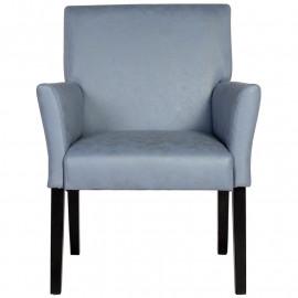 Chaise de salle à manger Harold bleue