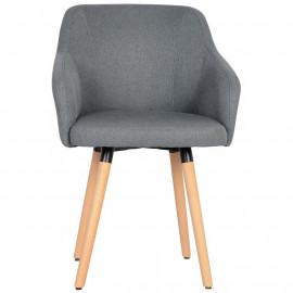 Chaise de salle à manger grise Alyson