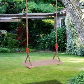 Siège de balançoire pour enfants Koala en bois naturel de pin