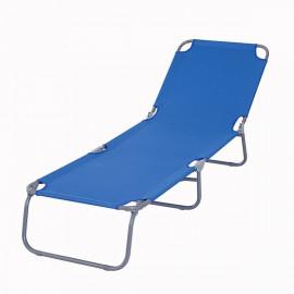 Chaise longue bleu MIAMI