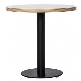 Table Haute ZEBRANCE BLANC/NOIR