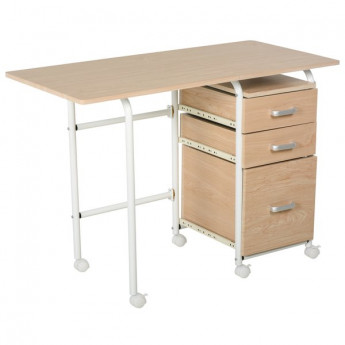 Table de bureau NEVERLAND Bois Naturel