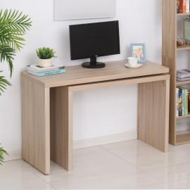 Bureau informatique modulable KOALA bois de chêne clair