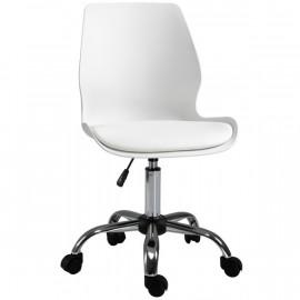 Chaise de bureau STEVE blanche