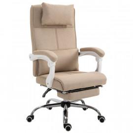 Fauteuil de bureau grand confort SAHARA beige