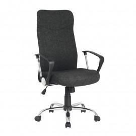 Chaise de bureau pivotante Lomi Noire